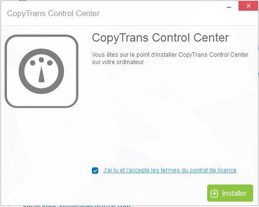 CopyTrans Photo installation