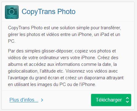 CopyTrans Photo