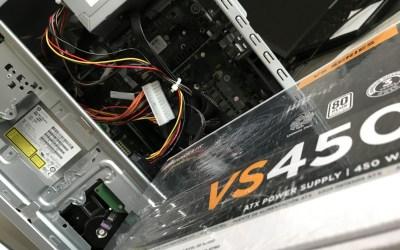Réparation alimentation PC