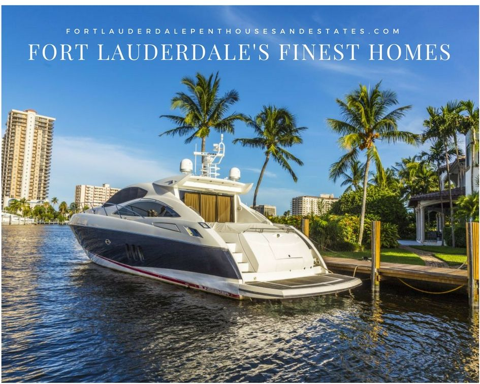 Fort Lauderdale Florida Homes with Boat Dock Space