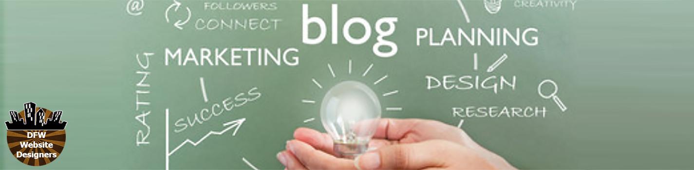 DFW Blog Designer http://DFWWebsiteDesigners.com