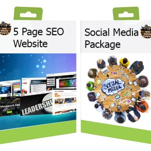 DFW Website Design 5 Page Website with Social Media