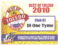 DJ One Tyme - Toledo City Paper's Best of Toledo -