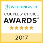wedding wire couples' choice DJ award 2017