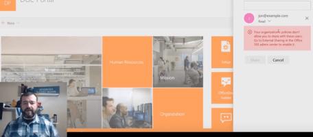 External Sharing Video