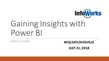SQL Saturday Louisville 2018 #sqlsatlouisville