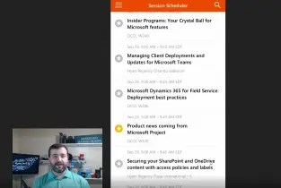Microsoft Ignite 2018 Mobile App