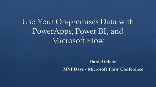 MVPDays Flow Conference 2018