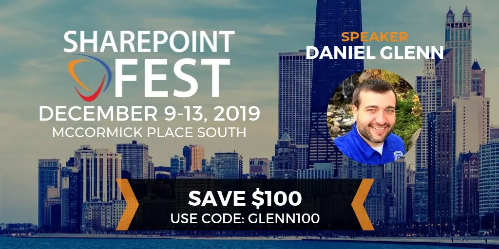 SharePoint Fest Chicago Discount Code
