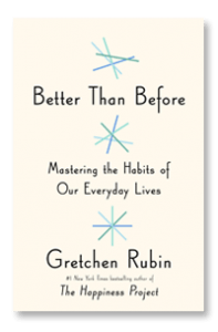 Better Than Before book cover Gretchen Rubin
