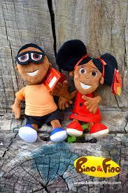 Bino and Fino Plush Dolls