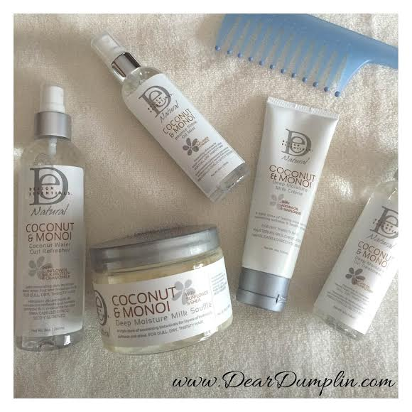 Design Essentials Coconut Monoi Collection Review on Dear Dumplin Blog