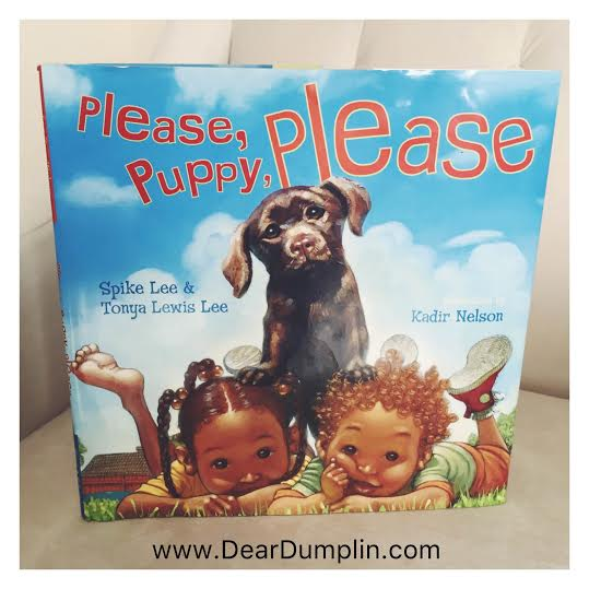 Please Puppy Please Book Cover