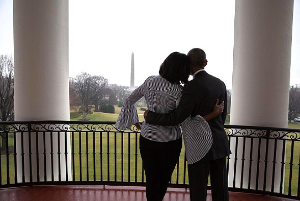 POTUS and FLOTUS say goodbye