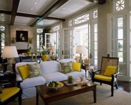 yellow french living room - pintererst