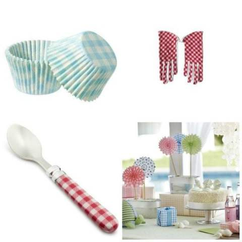 kitchen gingham
