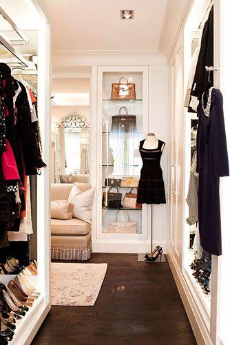 add mirrors to dark closets