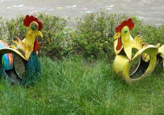 Calp Rooster för det nya året: 10 sätt att göra en rota med egna händer + foto