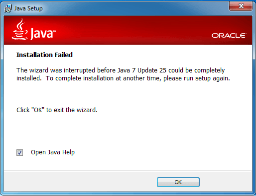 Uninstall Java