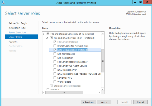 Data Deduplication in Server 2012/2012 R2 - Saving GBs with a Checkbox