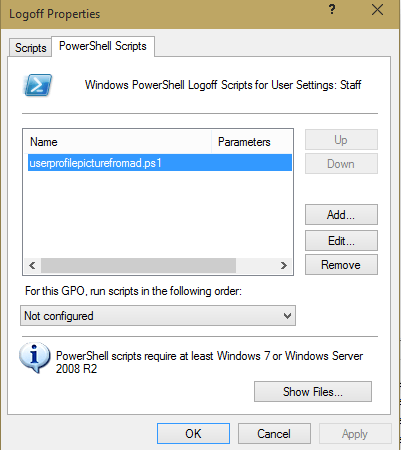 Syncing Windows Account Photos with Active Directory