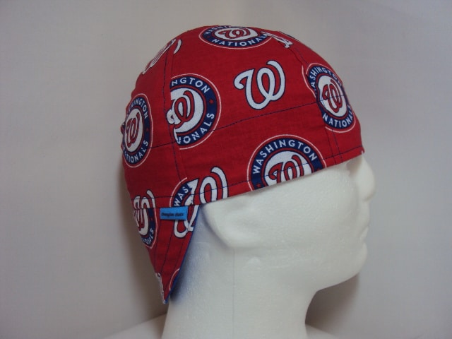 WELDING CAP MADE WITH Washington Nationals