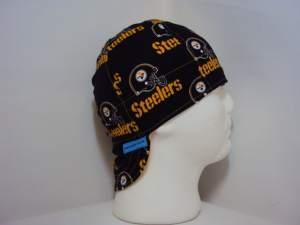 NFL Pittsburgh Steelers Black welding Cap