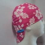 Hibiscus Hot Pink Welders Cap
