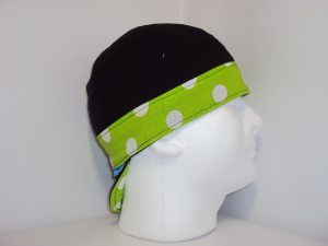 Polka Dot Color Band Welding Hat