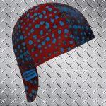 Turquoise Clusters Welding Cap