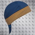 Hounds Tooth Yellow Band Welding Hat