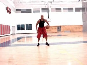 Sprint-Retreat Ball Handling '5' Drill - Dre Baldwin