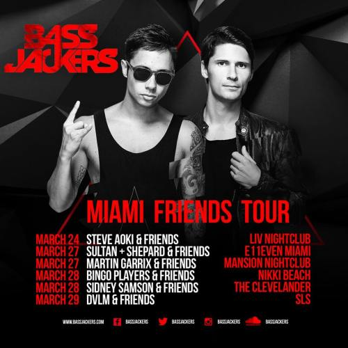 Miami Friends Tour