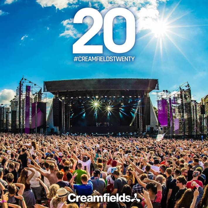 20th anniversary of Creamfields!