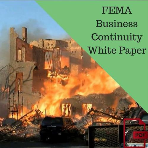 Whitepaper: FEMA Business Continuity