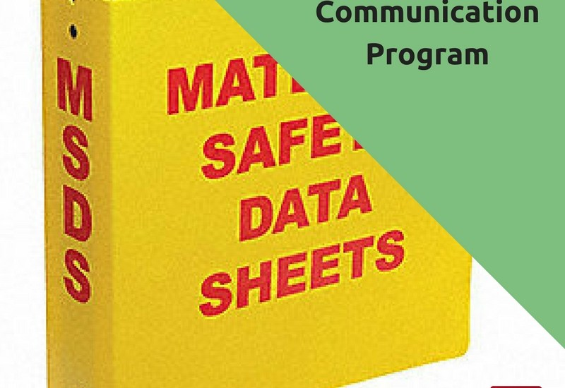 Hazard Communication Program – Example