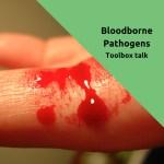 free tollbox talk bloodborne pathogens
