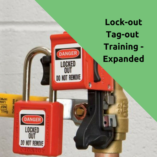 Lock-out Tag-out Training Expanded