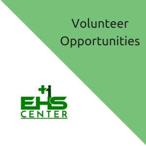 volunteer for a safer workplace