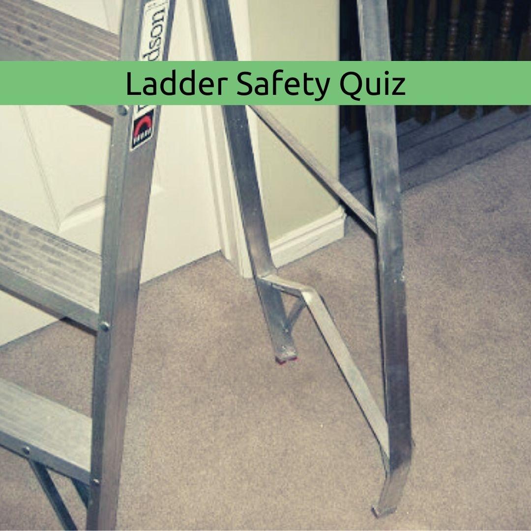 damaged ladder