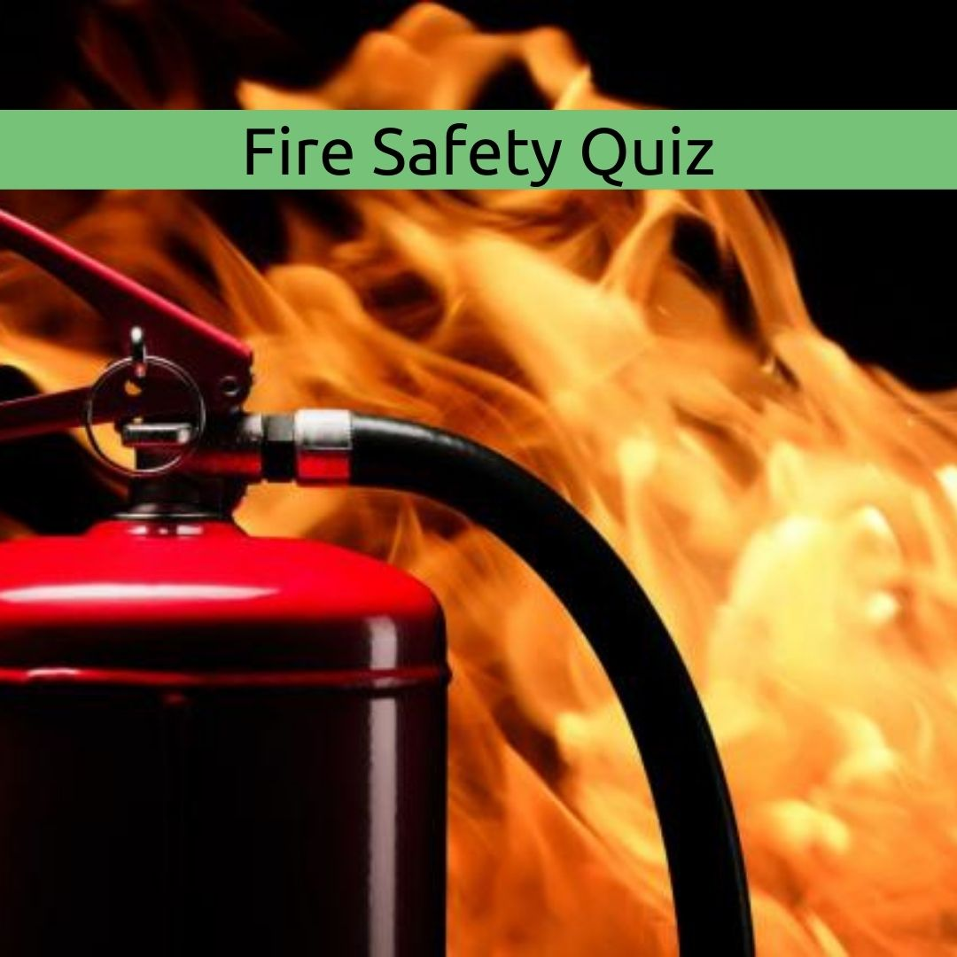 fire and fire extinguisher for fire safety quiz