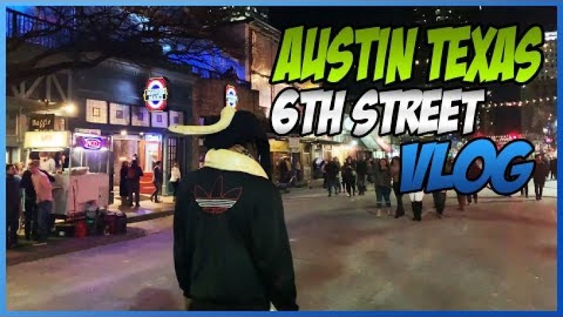 6th Street Austin Texas Feat. NerdBallerTV