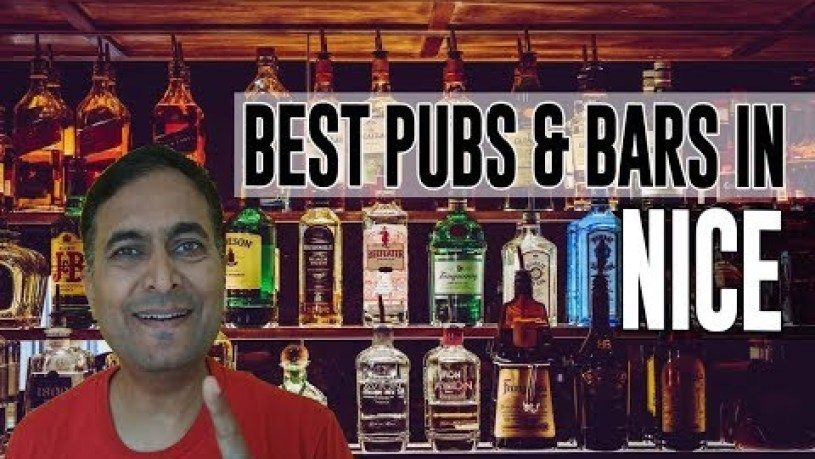 Best Bars Pubs & hangout places in Nice, France