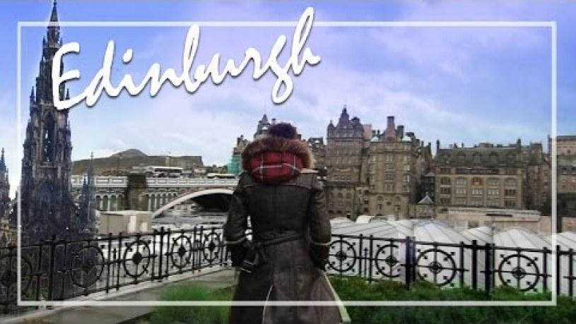 Edinburgh Travel Vlog : REAL Ghosts, Edinburgh Castle, Scotch, Jaime Oliver - MrJovitaGeorge