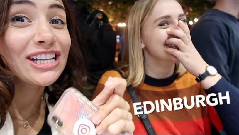 EDINBURGH FRINGE FESTIVAL VLOG! ft Hannah Witton