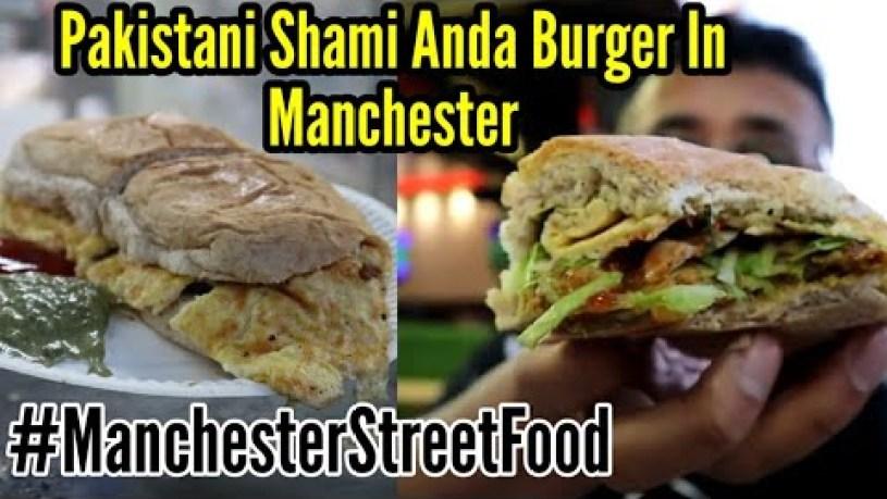 Pakistani Food Street in Manchester