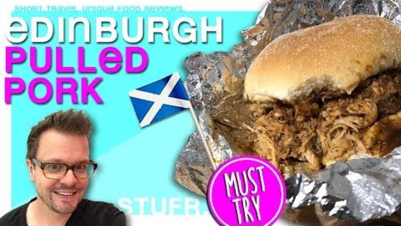 OINK EDINBURGH BEST PULLED PORK [ Edinburgh Cheap Eats Food Tour ]