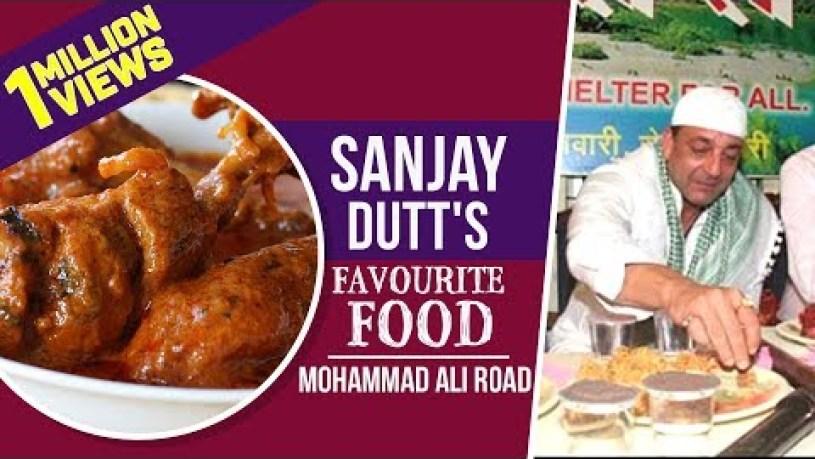 Sanjay Dutt's favourite food in Mohammed Ali Road | Indian Street Food | Sanju