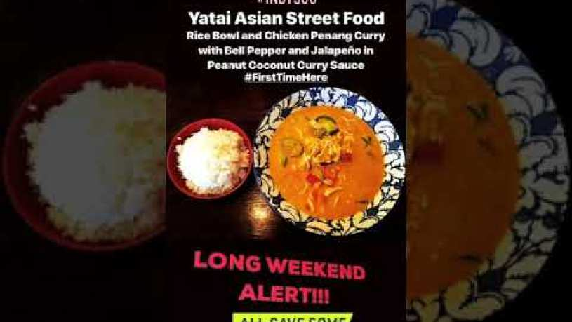 Chicken Penang Curry from Yatai Asian Street Food in Chicago