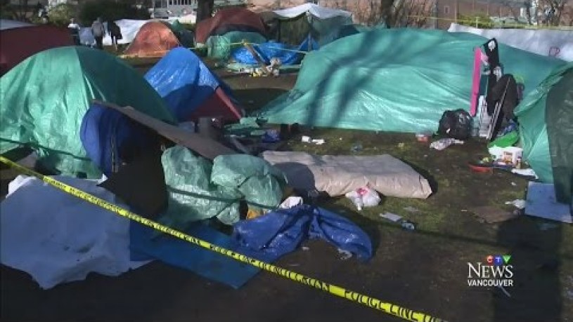 Deadline looms for homeless camp in Victoria, B.C.